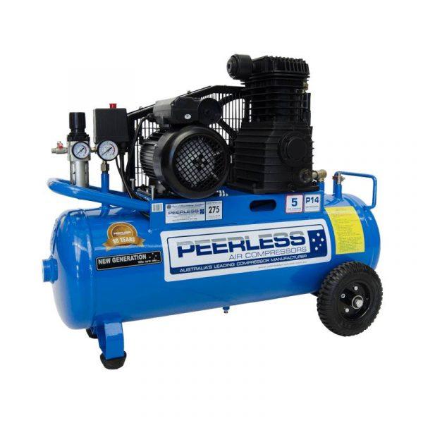 Peerless Single Phase Air Compressor P14 Portable 275LPM 10AMP