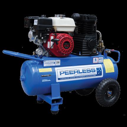 Peerless P17P Portable Petrol Belt Drive 350LPM