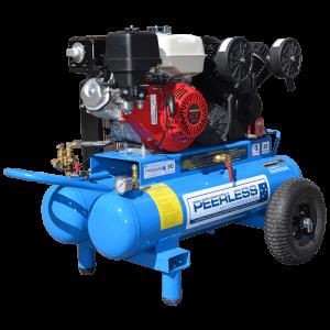 Peerless PV25PTT Portable Petrol Twin Tank, 545LPM