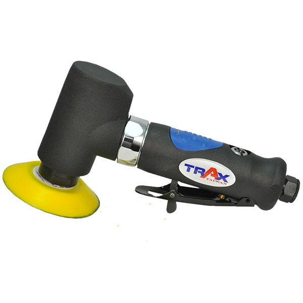 """ARX-AS602 - TRAX 97° Air Angle Orbital Sander with 2"""" & 3"""" velcro pads M6 threads"""
