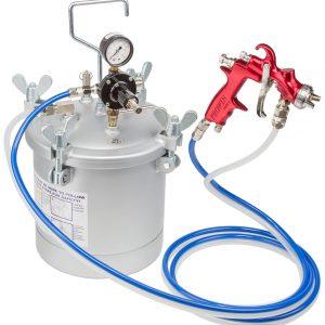 10Ltr Pressure Tank c/w 3mt hoses & 1.2mm Gun