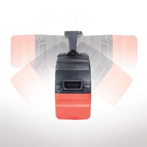 Pro Series Air Retractable hose reel 12.5mm x 15m 58.1056