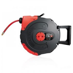 Pro Series Air Retractable hose reel 12.5mm x 15m 58.1056