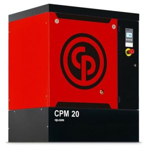 Rotary Screw Compressor, 15kw, 66cfm - Chicago Pneumatic CPM20/8 FM
