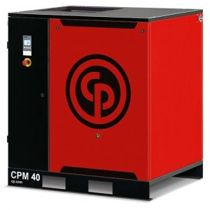 Rotary Screw Compressor, 30kw, 153cfm - Chicago Pneumatic CPM40/8