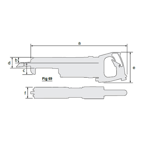 Chicago Pneumatics High performance and robust Air Saw FRS-45