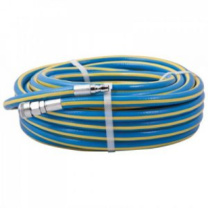 Geiger Air Hose 12.5mm x 20m with Nitto style fittings