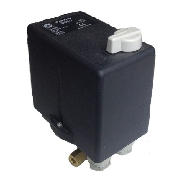 Pressure Switch - Condor MDR3 Three single phase 6.3-10amp - 3031106