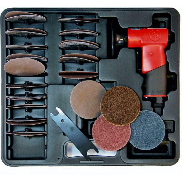 Chicago Pneumatic - CP720 Series MINI ROTARY SANDING KIT - CP7202D