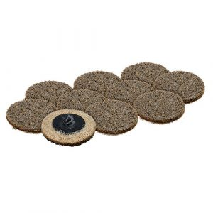 "50mm / 2"" COARSE Brown Abrasive disc x 10 GPA1526X10"