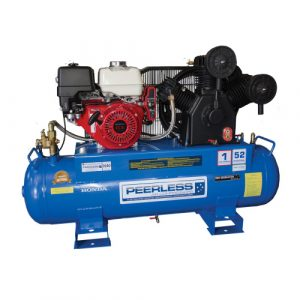Peerless Petrol Piston Air Compressors