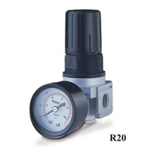 "1/4"" Mini Compressed Air Regulator - R202A"