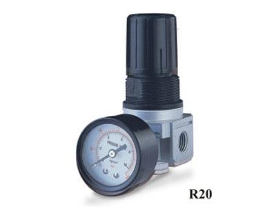 """1/4"""" Mini Compressed Air Regulator - R202A"""