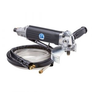 Shinano SI2515WE 5'' Wet Angle Grinder