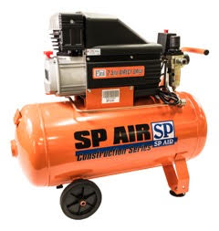 SP Air Single Phase Piston Air Compressors