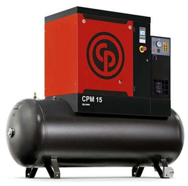Rotary Screw Compressor, 11kw, 57cfm - Chicago Pneumatic CPM15/8 FF