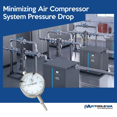 Minimizing Air Compressor System Pressure Drop