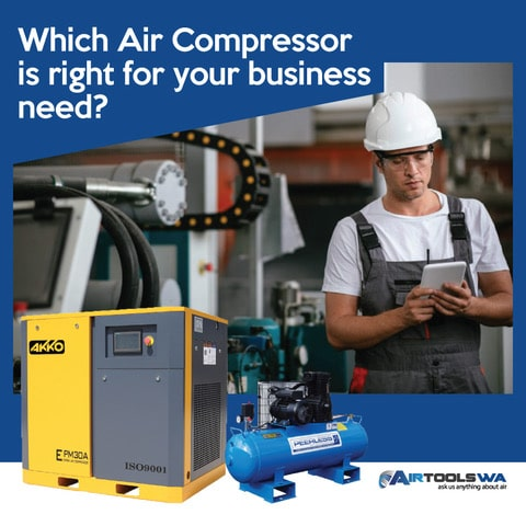 Which Air Compressor Is Right for Your Business Needs?
