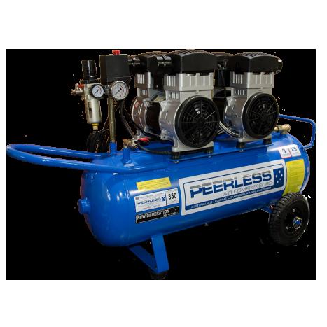 Peerless 00592 Oil-Less Twin Pump 25, 350LPM-15A