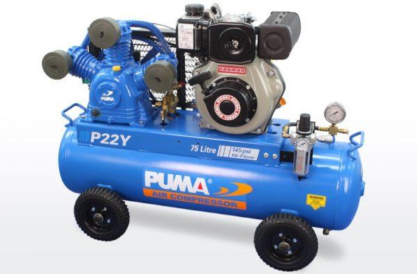 P22Y Air Compressor Electric Start